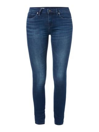 Stone Washed Jegging Fit Jeans mit Stretch-Anteil Blau / Türkis - 1
