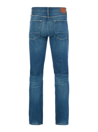 Tommy Hilfiger Stone Washed Straight Fit 5-Pocket-Jeans Blau - 1
