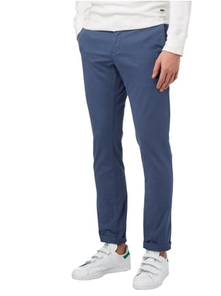 Tommy Hilfiger Straight Fit Chino mit Stretch-Anteil Blau - 1