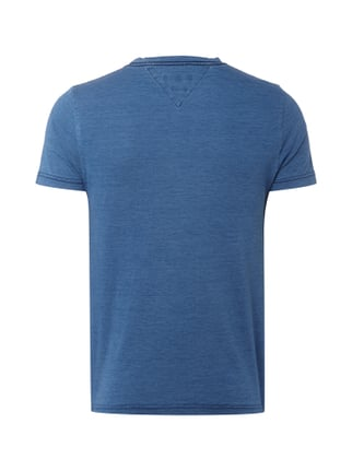 Tommy Hilfiger T-Shirt mit Logo-Print im Washed Out-Look Blau - 1