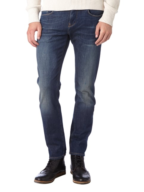 Tommy Hilfiger Used Slim Fit Lower Rise Jeans Blau - 1