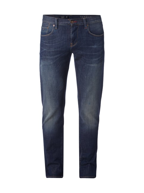 Used Slim Fit Lower Rise Jeans Blau / Türkis - 1
