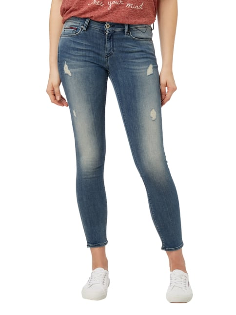 Hilfiger Denim Skinny Fit 5-Pocket-Jeans im Destroyed Look Jeans - 1