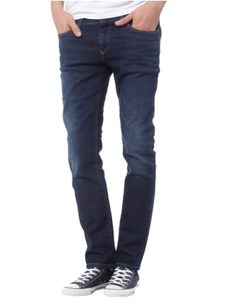 Hilfiger Denim Slim Fit 5-Pocket-Jeans im Stone Washed-Look Jeans meliert - 1
