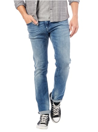 Hilfiger Denim Stone Washed Slim Fit 5-Pocket-Jeans Jeans - 1