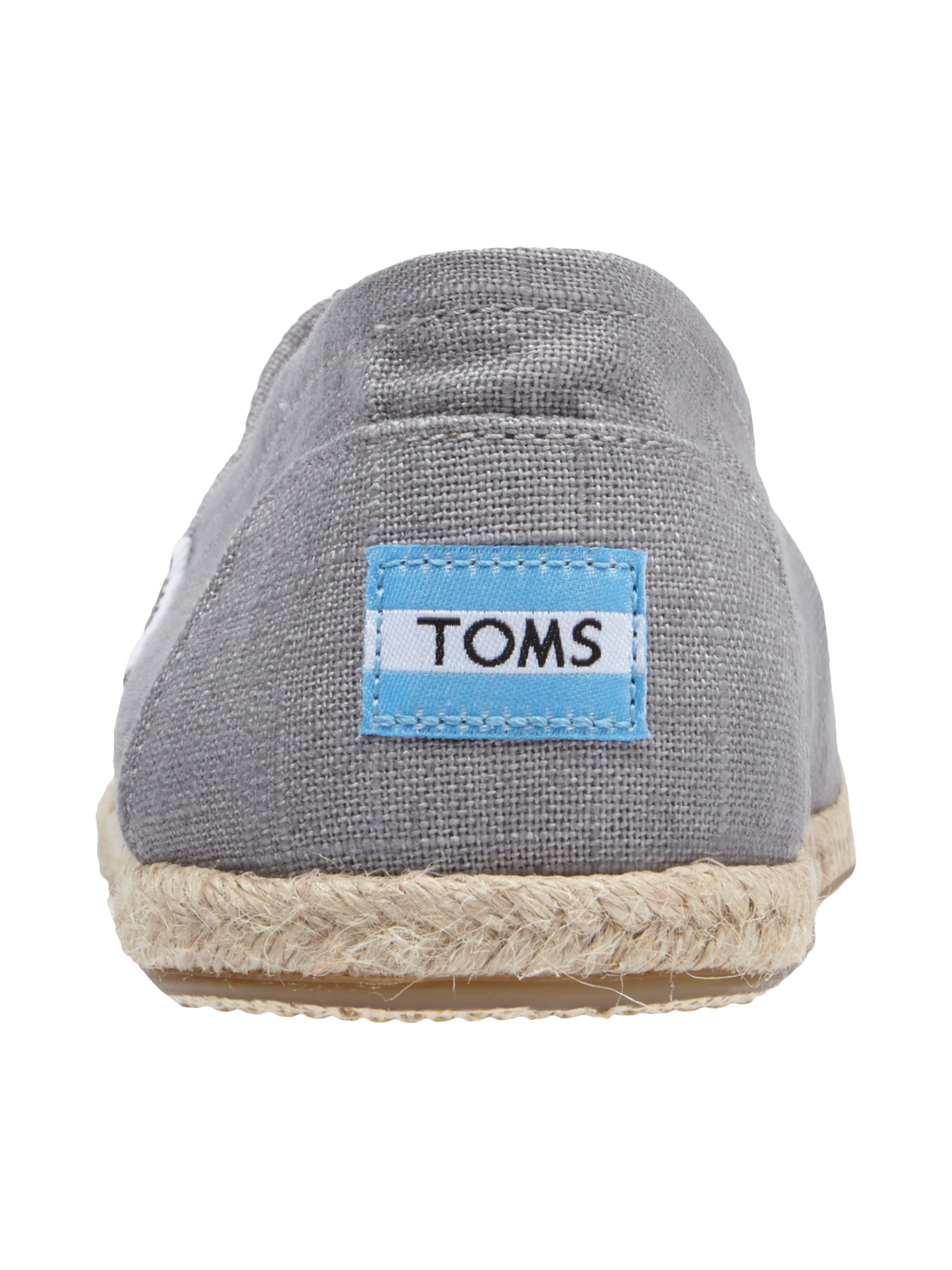toms espadrilles aus leinen in grau schwarz online kaufen 9446447 p c at online. Black Bedroom Furniture Sets. Home Design Ideas