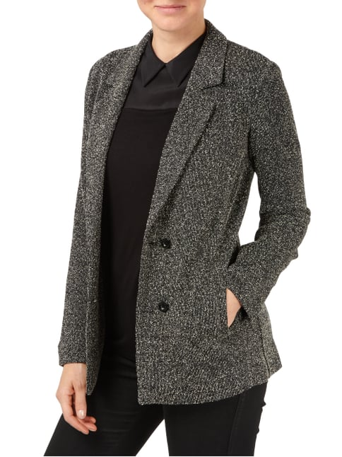 Twin Set Sweatblazer mit Pilling-Effekt Schwarz - 1