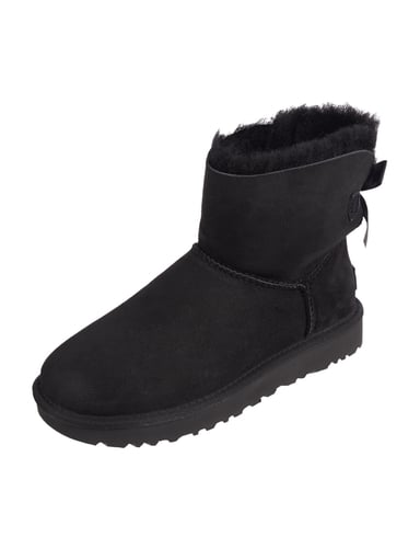 ugg australia mini shearling stiefel mit schleife ugg australia mini. Black Bedroom Furniture Sets. Home Design Ideas