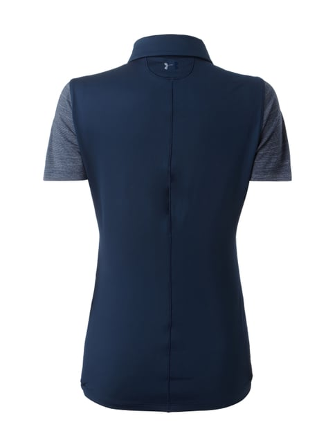 Under Armour Funktionsshirt mit Polokragen Marineblau - 1