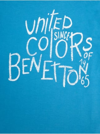 Longsleeve mit Logo-Print United Colors of Benetton online kaufen - 1