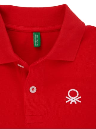 Poloshirt aus reiner Baumwolle United Colors of Benetton online kaufen - 1
