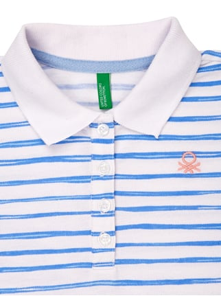 Poloshirt mit Streifenmuster United Colors of Benetton online kaufen - 1