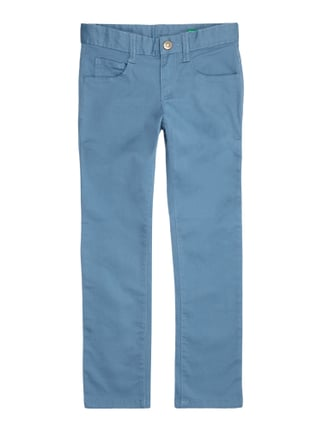 Skinny Fit 5-Pocket-Hose Grün - 1