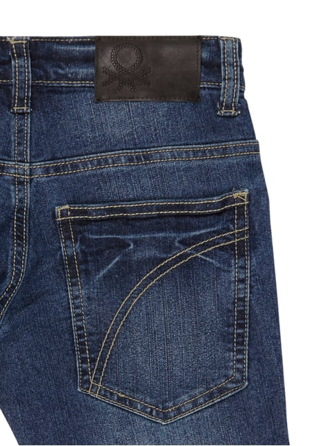 Stone Washed Skinny Fit 5-Pocket-Jeans United Colors of Benetton online kaufen - 1