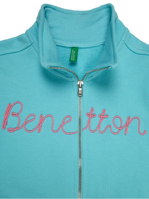 Sweatjacke mit Logo-Applikation United Colors of Benetton online kaufen - 1