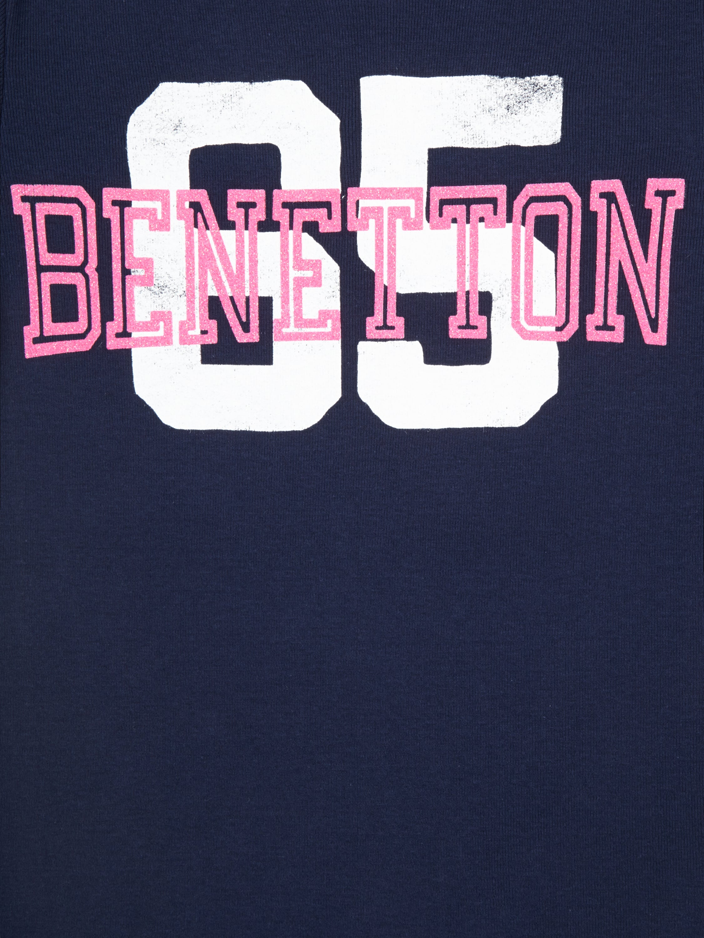 T shirt mit logo print fashion id online shop for United colors of benetton logo