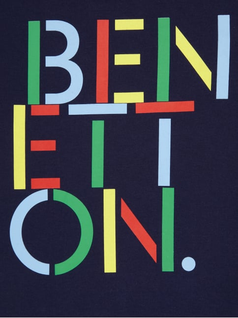T-Shirt mit Logo-Print United Colors of Benetton online kaufen - 1