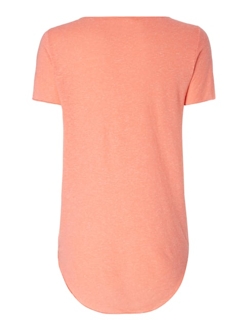 Vero Moda Shirt mit Nähten im Inside-Out-Look Apricot - 1
