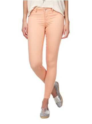 Vila Coloured Jeggings mit Stickereien Rosé - 1