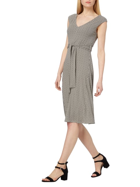 Weekend Max Mara Kleid mit Allover-Muster in Braun - 1