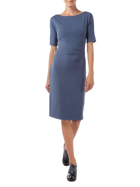 Weekend Max Mara Kleid mit Drapierung in Blau / Türkis - 1
