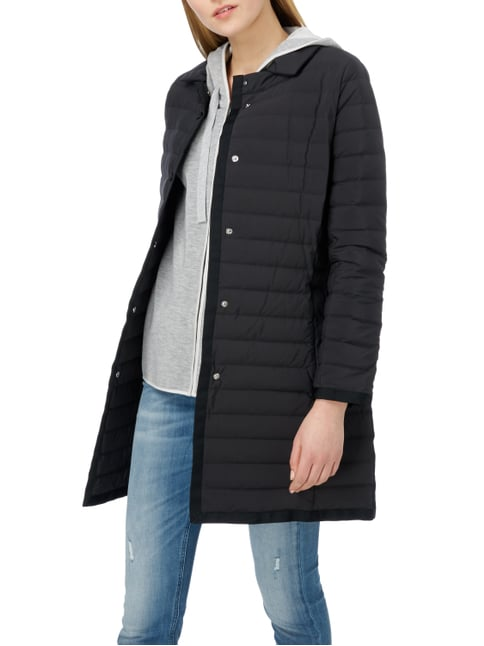 Weekend Max Mara Light-Daunenmantel mit Steppungen Schwarz - 1