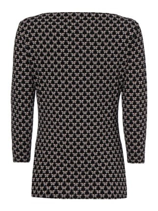 Weekend Max Mara Shirt mit Schmetterlings-Print Schwarz - 1