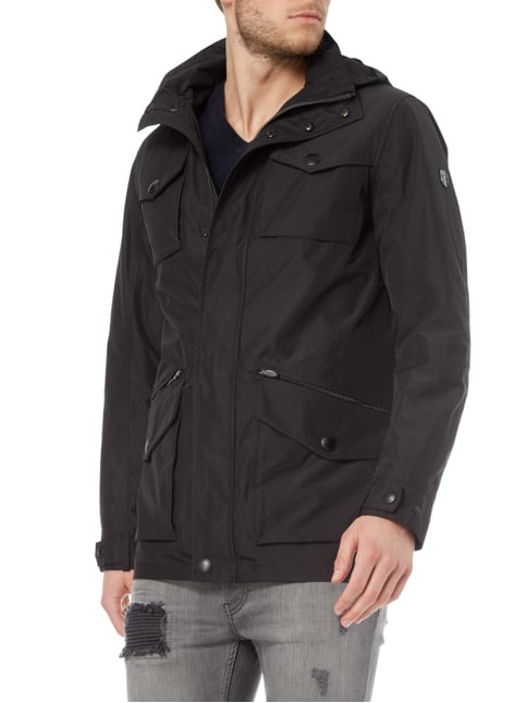 Wellensteyn Atlantis Men Summer 140 Funktionsjacke mit Kapuze Schwarz - 1