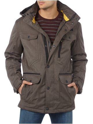 Wellensteyn Chester Winter 594 Funktionsjacke mit Kapuze Anthrazit - 1