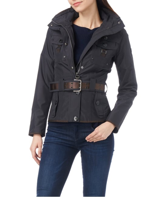 Wellensteyn Chocolate 140 Funktionsjacke mit Taillengürtel Marineblau - 1