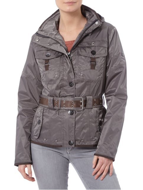 Wellensteyn Chocolate 46 Funktionsjacke mit Kapuze Anthrazit - 1