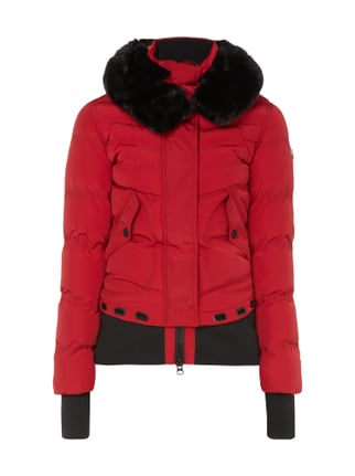 Queens 382 Funktionsjacke mit abnehmbarer Kapuze Rot - 1