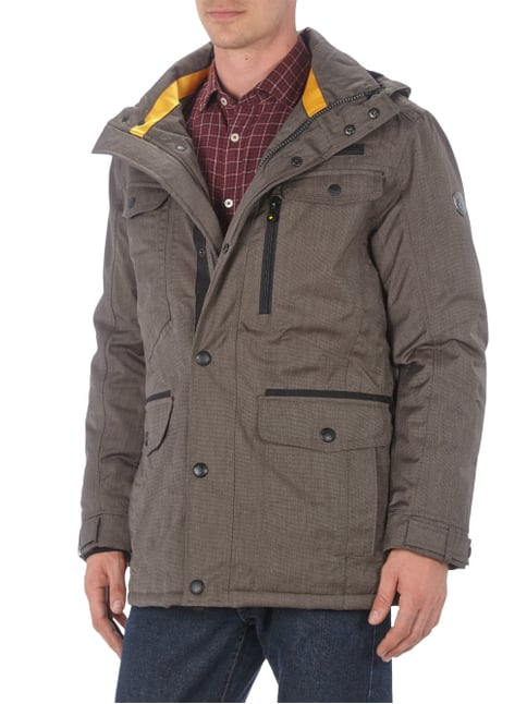 Wellensteyn Winter Chester 594 Funktionsjacke mit Kapuze Mittelbraun - 1