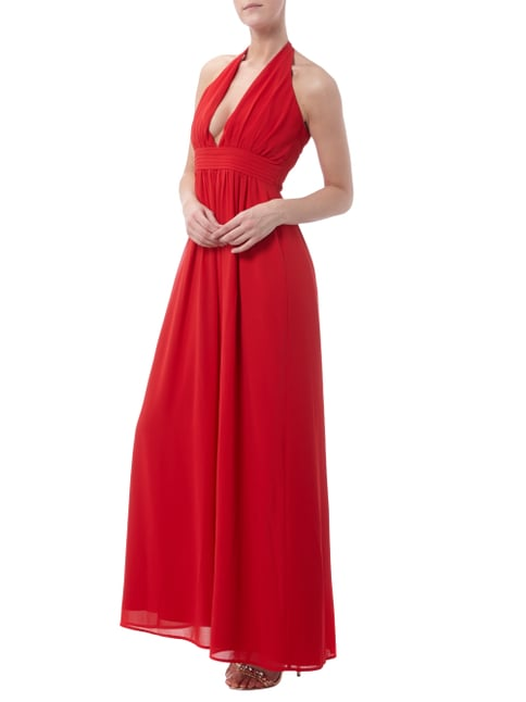 Young Couture Abendkleid mit Neckholder in Rot - 1