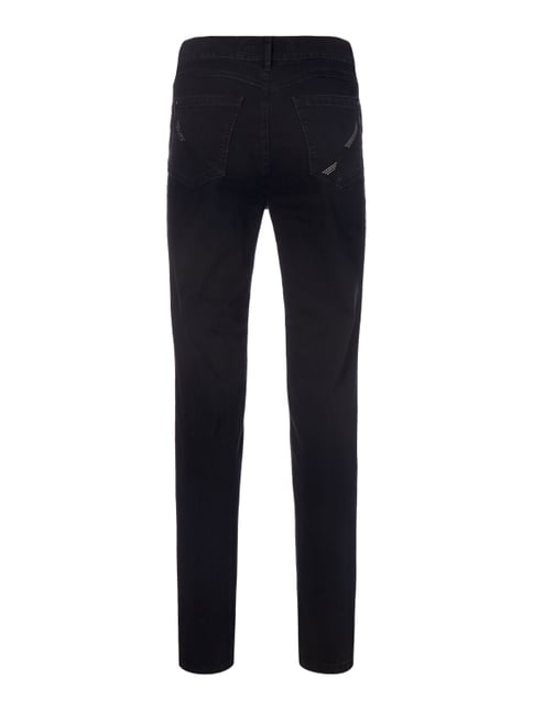 Zerres Coloured Comfort Fit 5-Pocket-Jeans Schwarz - 1