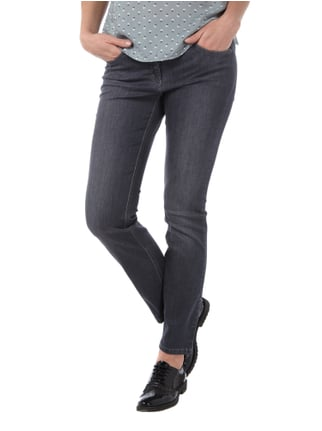 Zerres TWIGY Coloured Jeans im Stone Washed Look Anthrazit - 1