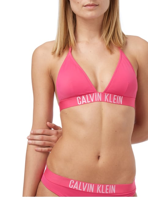 Calvin Klein Underwear Bikini-Oberteil in Triangel-Form in Rosé - 1