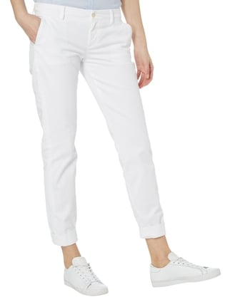 7 for all mankind Chino aus Denim Weiß - 1