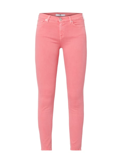 28d5e77948dbe 7 for all mankind Coloured Denim Skinny Fit Jeans Rosa - 1 ...