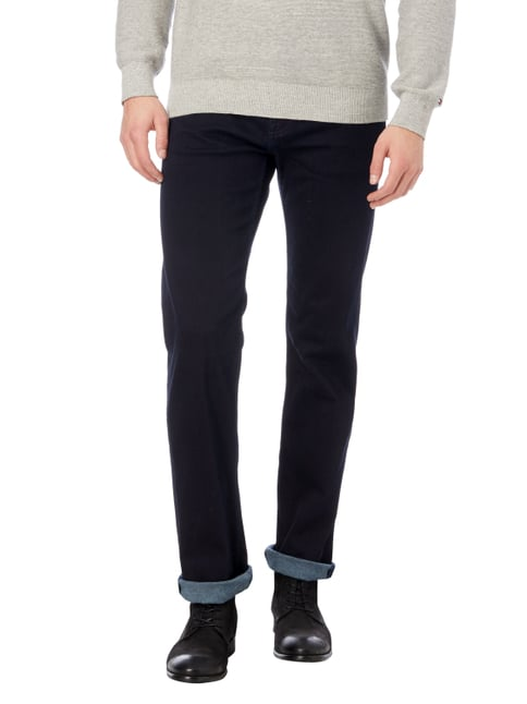 7 for all mankind Coloured Regular Fit 5-Pocket-Jeans Dunkelblau - 1
