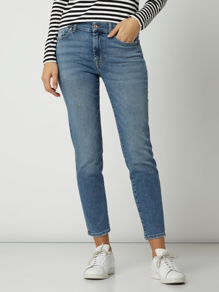 7 for all mankindRoxanne Ankle – Cropped Jeans mit Stretch Anteil Modell 'Roxanne'