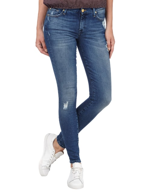 7 for all mankind Destroyed Look Skinny Fit Jeans Jeans - 1