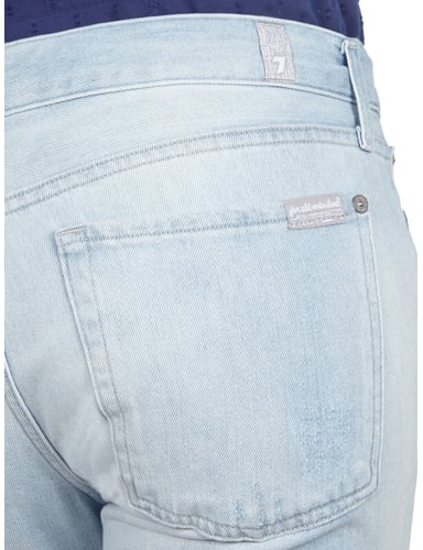 Loose Tapered Fit Destroyed Boyfriend Jeans 7 for all mankind online kaufen - 1