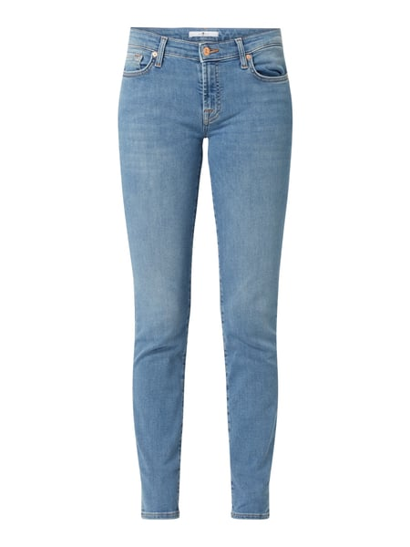 7 For All Mankind Slim Fit Jeans mit Stretch-Anteil Modell 'Pyper' Blau - 1