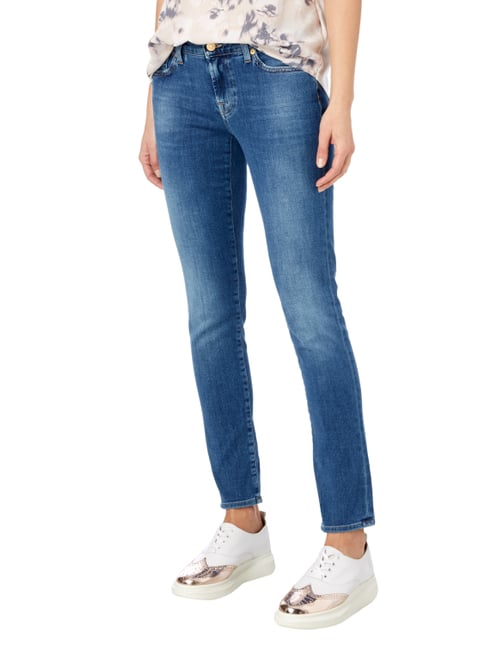 7 for all mankind Stone Washed Slim Fit Jeans Jeans - 1