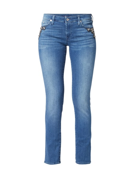 7 for all mankind Pyper - Stone Washed Slim Fit Jeans Jeans