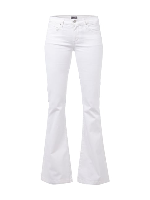 Flared Cut 5-Pocket-Jeans Weiß - 1