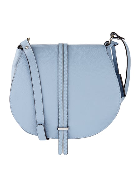 Saddle Bag aus echtem Leder Blau / Türkis - 1