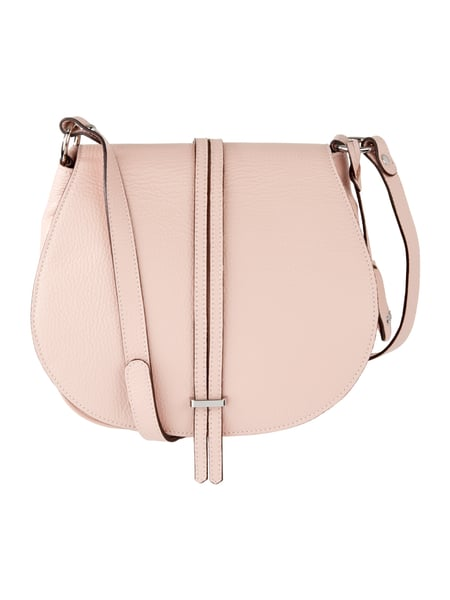 Saddle Bag aus echtem Leder Rosé - 1