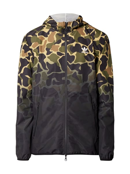 adidas originals jacke mit camouflage muster in gr n online kaufen 9738183 p c online shop. Black Bedroom Furniture Sets. Home Design Ideas
